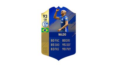 FIFA 18 Ultimate Team of the Season Naldo