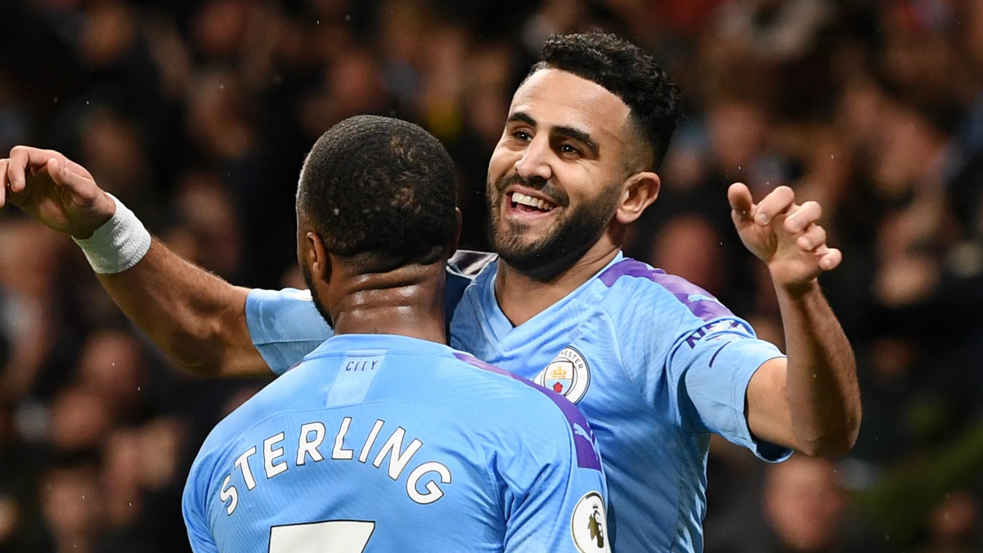 Six goals, nine assists: Mahrez's imposing Manchester City ...