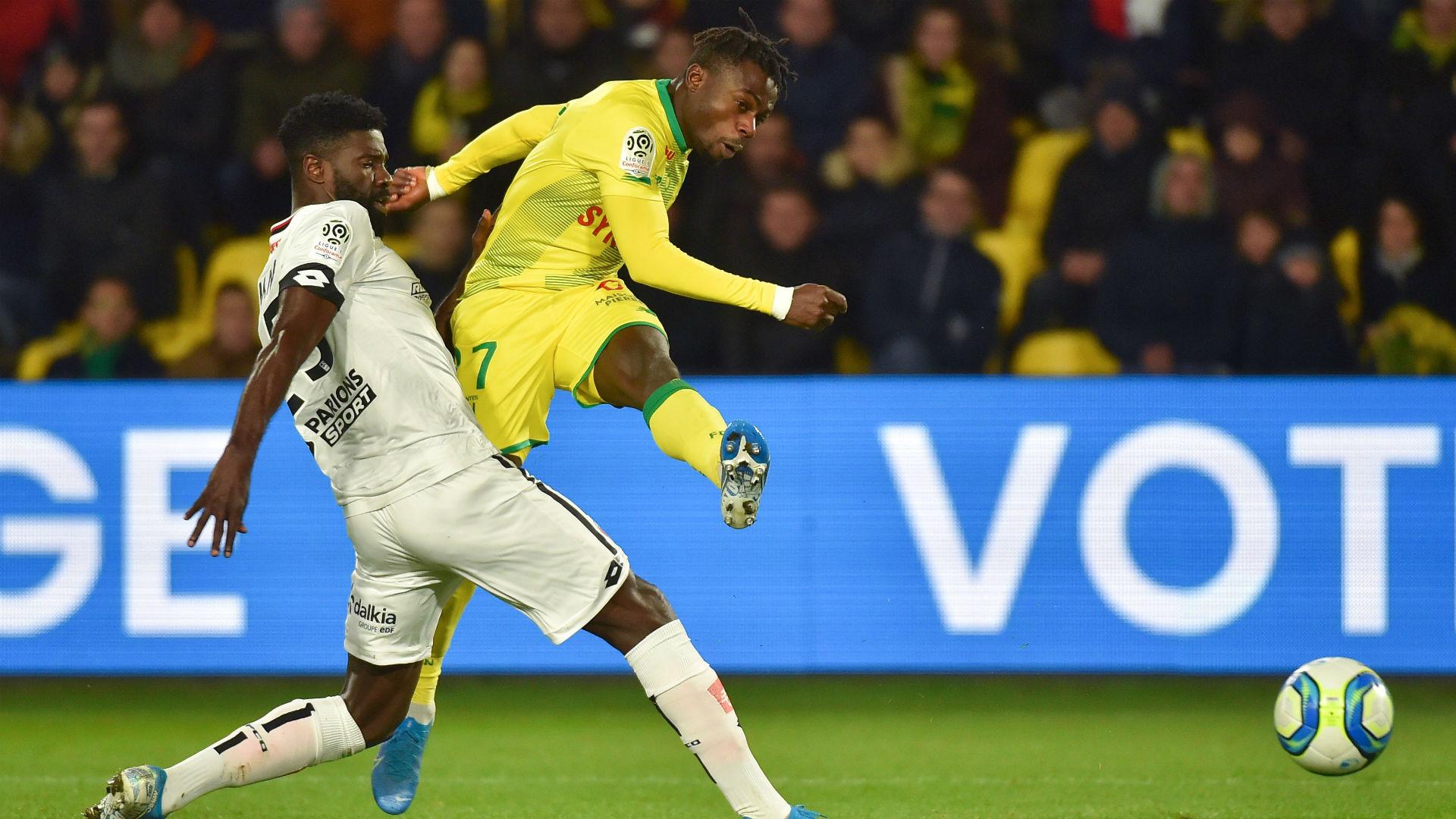 Super Eagles winger Moses Simon named Nantes Player of the Season