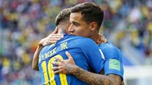 Philippe Coutinho Neymar Brazil 2018 World Cup