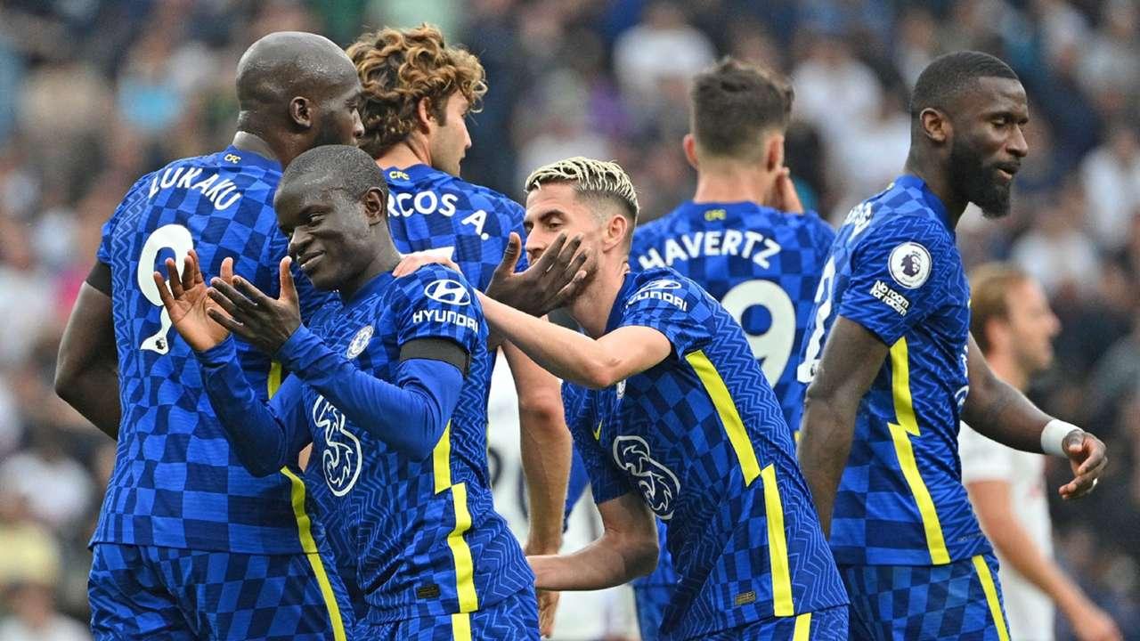 Kante Chelsea Tottenham 2021