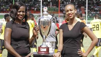 Models with KPL Super Cup trophy