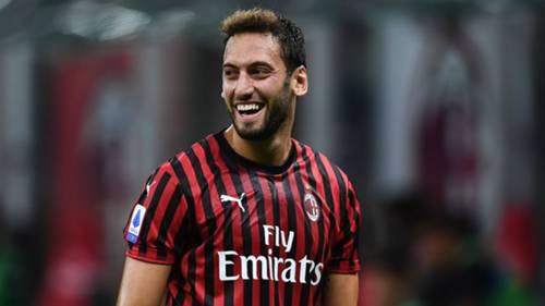 Hakan Calhanoglu AC Milan Atalanta 07242020