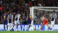 Lionel Messi Gianluigi Buffon Gol Barcelona Juventus Champions League 12092017