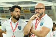 Eelco Schattorie Ishfaq Ahmed Kerala Blasters