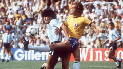 Falcao Diego Maradona Brazil Argentina