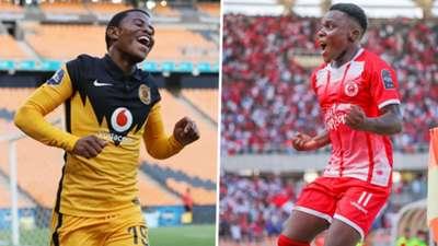 Simba SC Luis Miquissone vs Kaizer Chiefs.