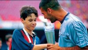 Guardiola, Iniesta 1999