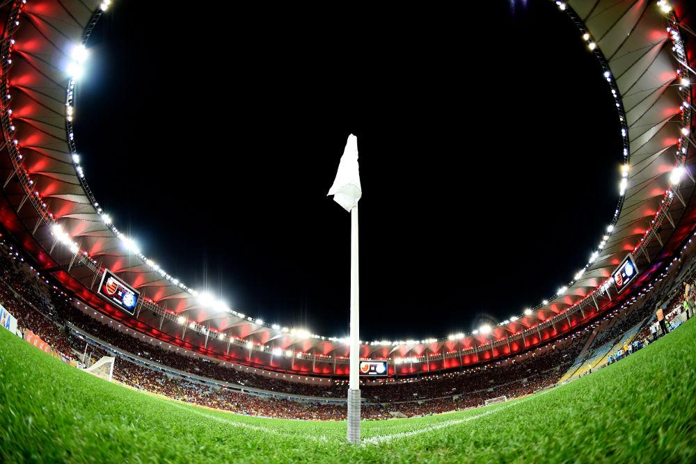 Maracanã em dia de Flamengo