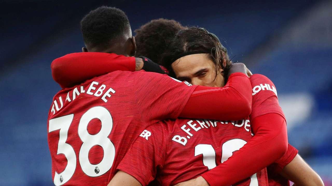 Axel Tuanzebe Edinson Cavani Manchester United 2020-21