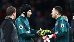 Petr Cech David Ospina Arsenal