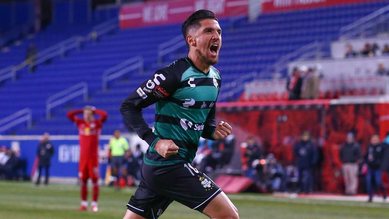 Diego Valdes Santos Laguna New York Red Bulls Concacaf Champions League 2019