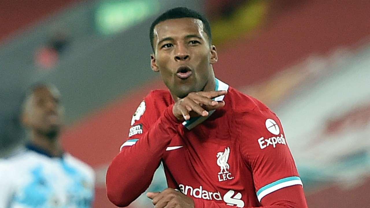 Georginio Wijnaldum Liverpool 2020-21
