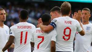 Marcus Rashford Raheem Sterling Harry Kane England Bulgaria