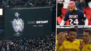 Kobe Bryant Tribute Neymar Jadon Sancho