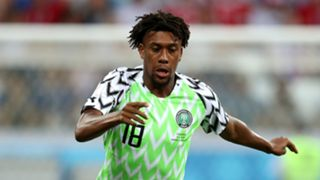 Nigeria vs. Croatia - Alex Iwobi