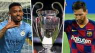 Gabriel Jesus Lionel messi Champions League GFX