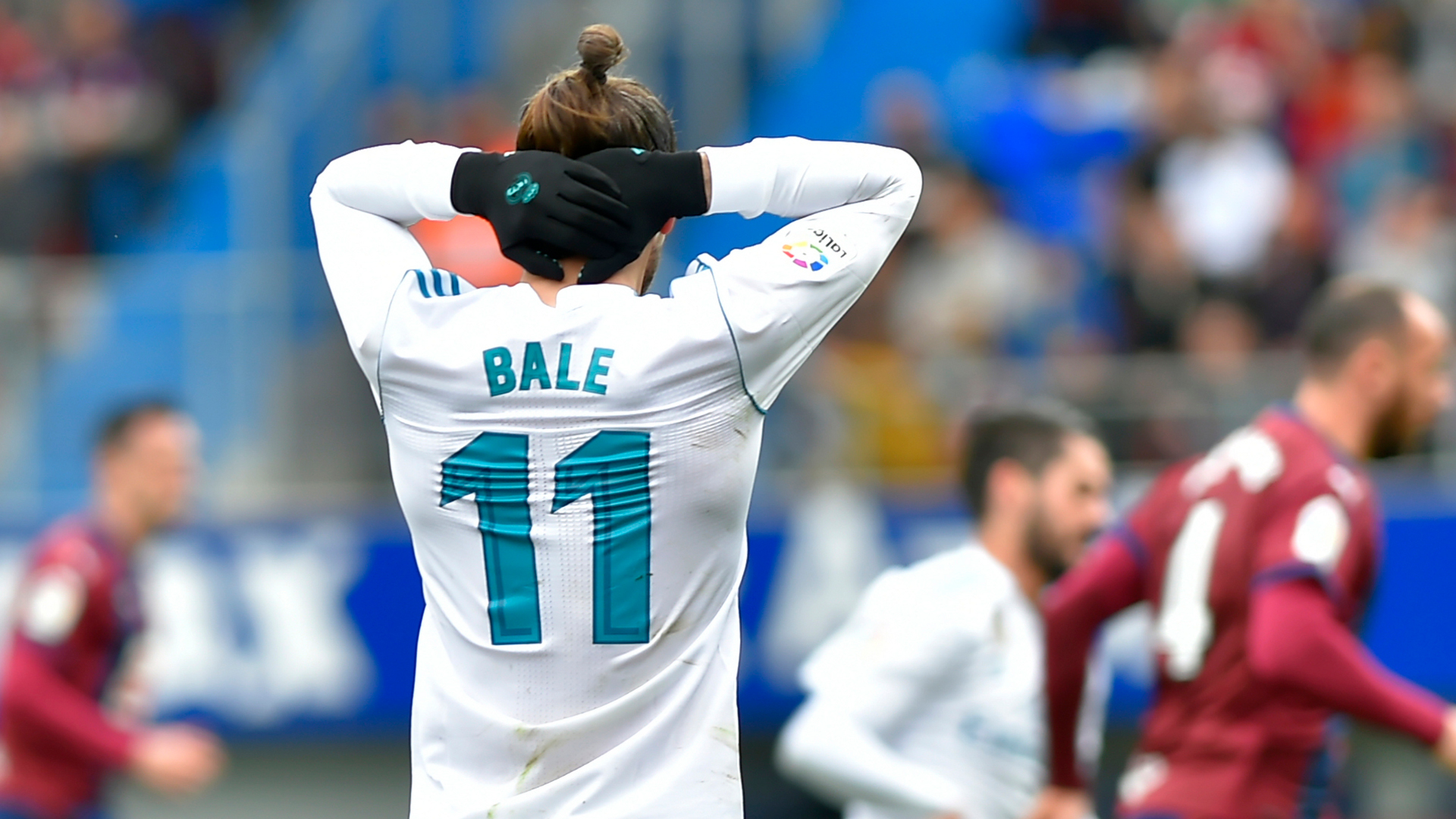 Gareth Bale Real Madrid Eibar
