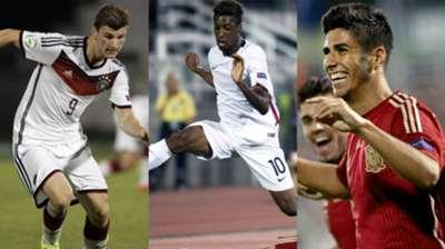 collage U19 EM 2015