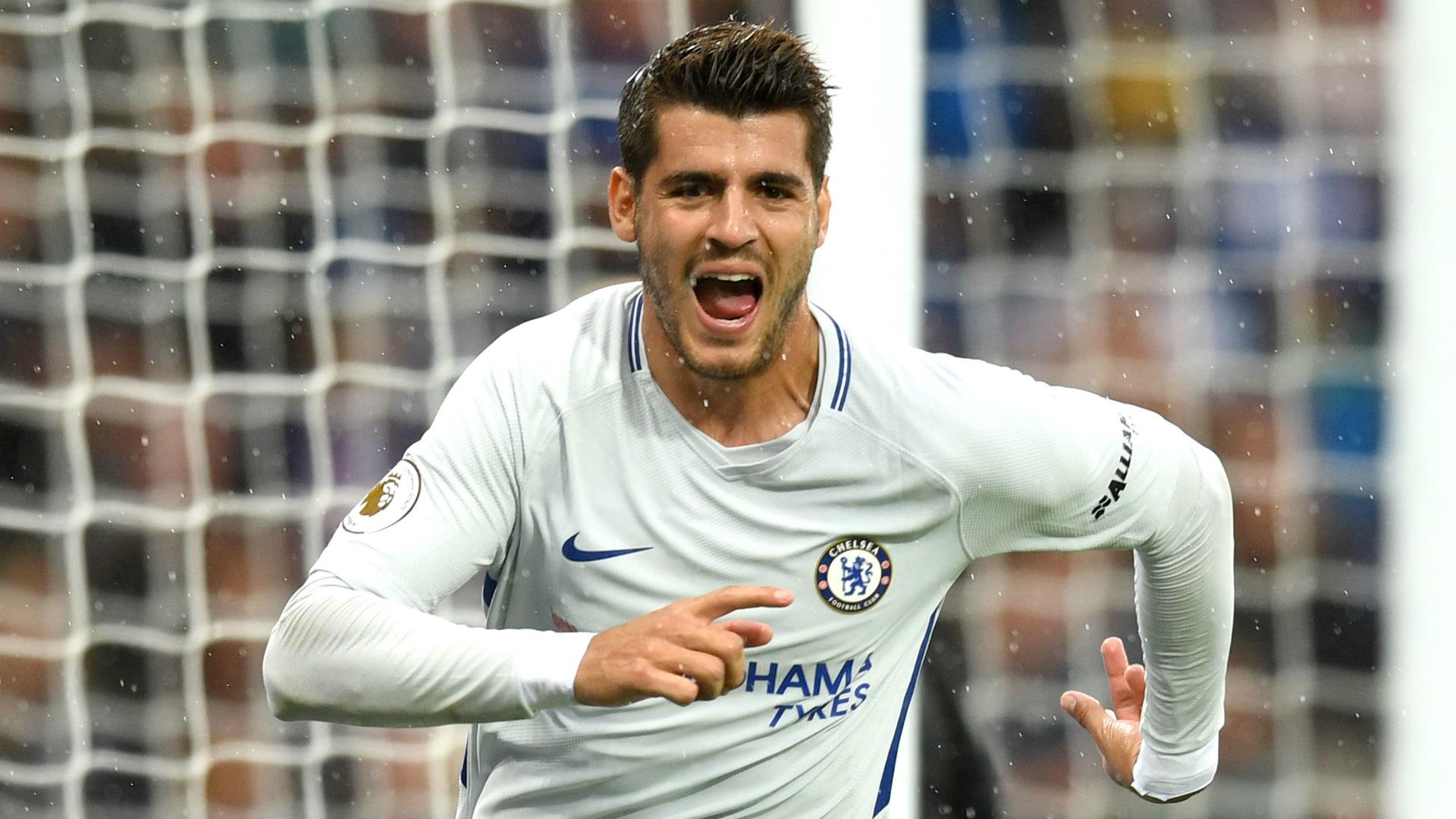 Alvaro Morata Chelsea 09092017