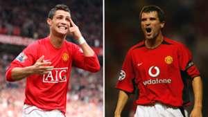 Ronaldo/Keane split