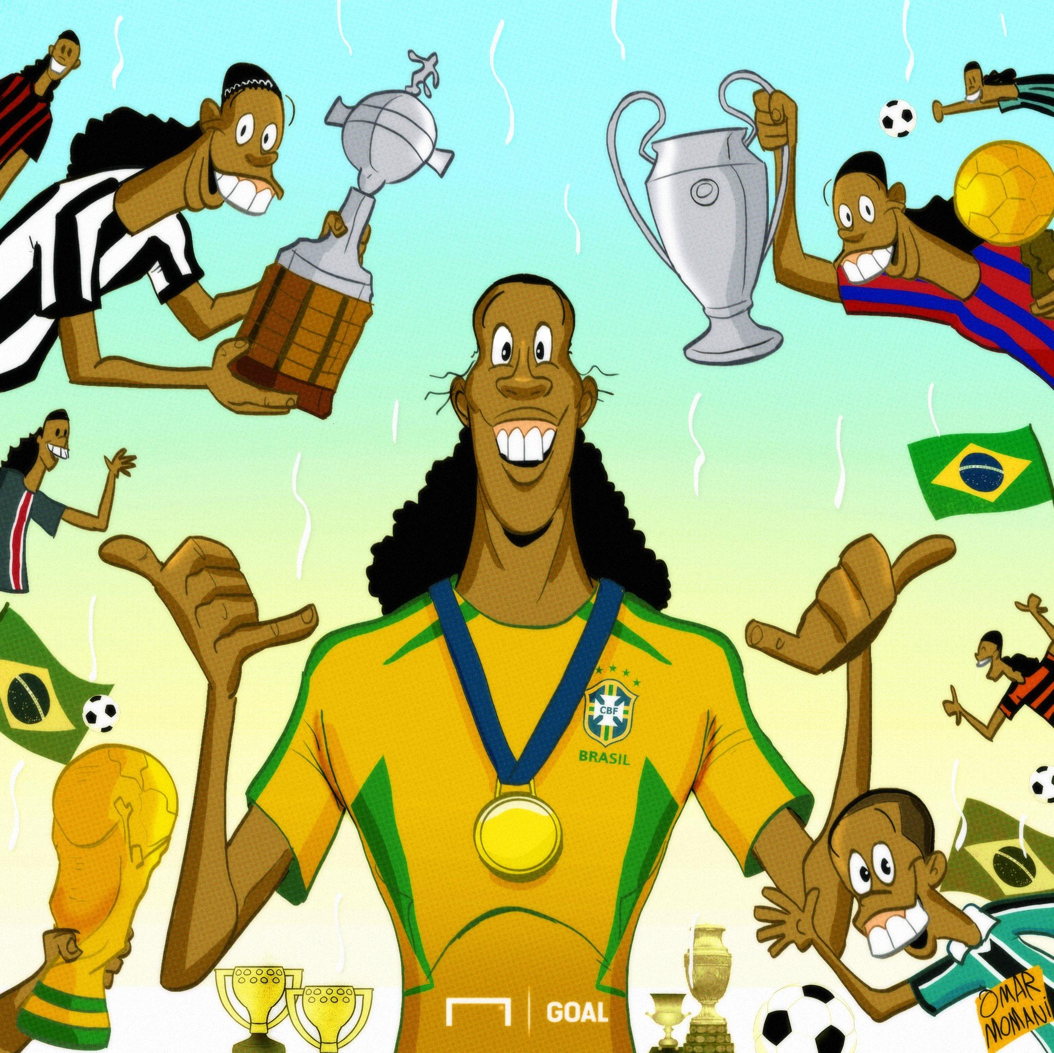Tidak Ada Yang Mencintai Sepakbola Melebihi Ronaldinho