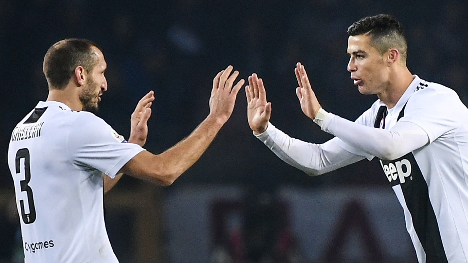 'He scored a lot against us' - Chiellini delighted to be on the same side as 'champion' Ronaldo