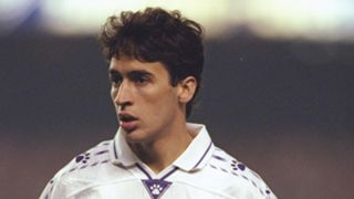 Young Raul Real Madrid