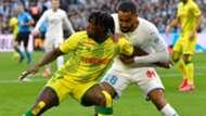 Abdoul Kader bamba Jordan Amavi Marseille Nantes Ligue 1 22022020
