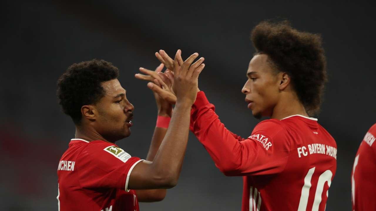 Gnabry Sane Bayern 2020