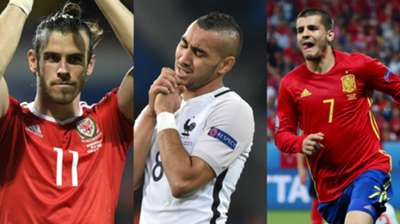 Bale, Payet, Morata collage