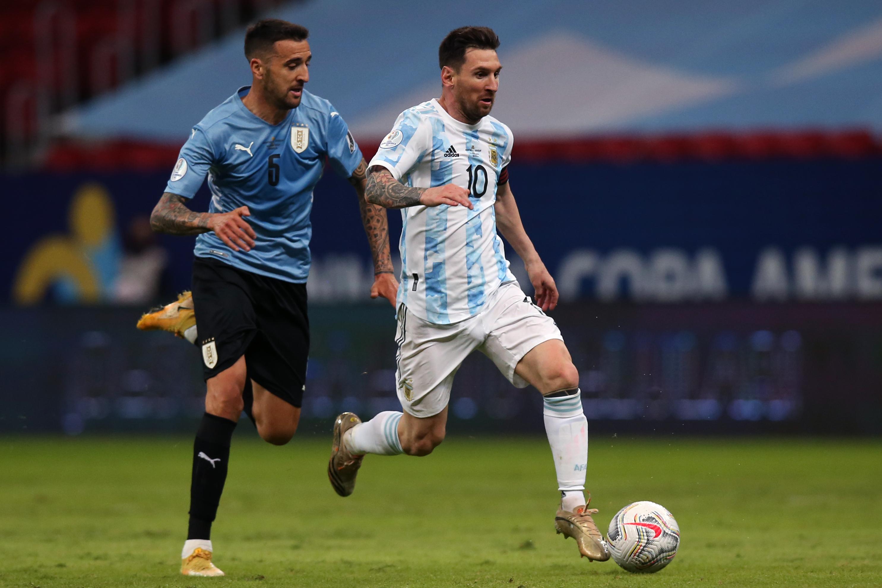 Watch: Lionel Messi's sublime assist against Uruguay