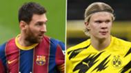 Messi Haaland GFX