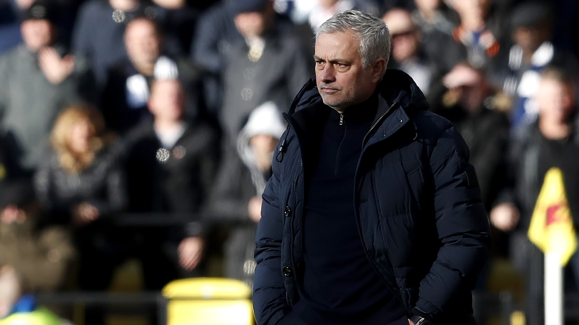 Mourinho promises to stay loyal to Tottenham squad despite striker transfer rumours