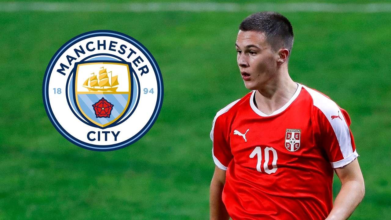 Filip Stevanovic/Manchester City composite