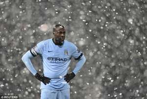Yaya Touré Manchester City winter break