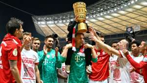 Manuel Neuer Franck Ribery FC Bayern München RB Leipzig DFB Pokal 25052019