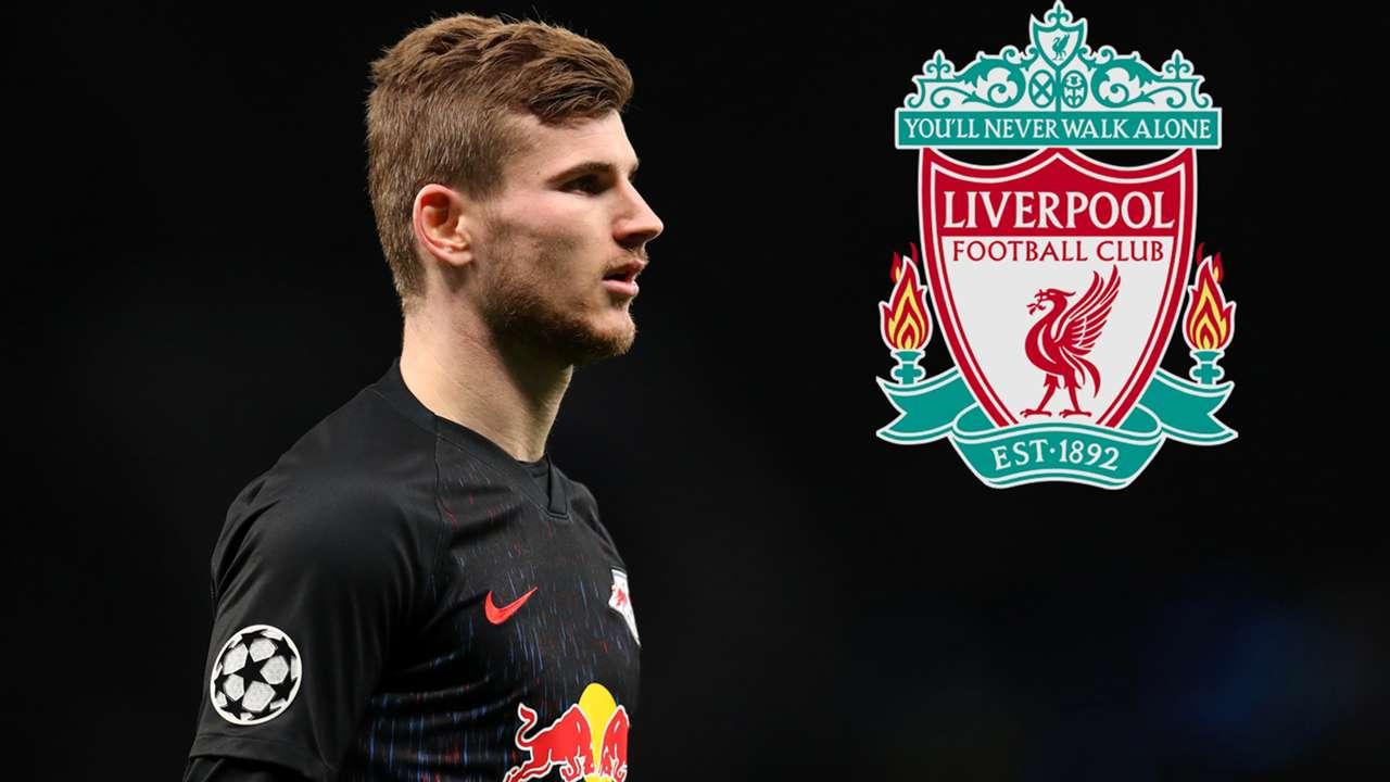 Timo Werner RB Leipzig Liverpool GFX