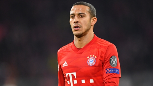 Thiago back in Bayern training after three-game absence   Goal.com