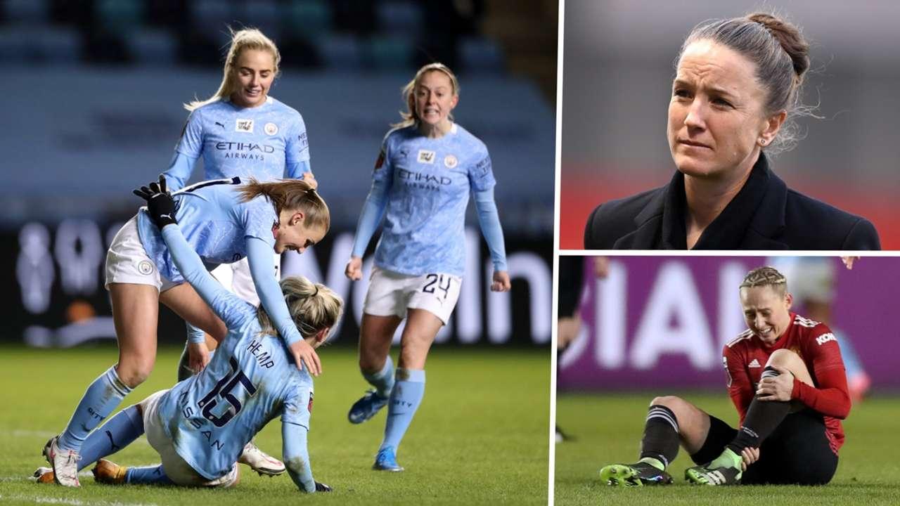 Casey Stoney Leah Galton Manchester City Manchester United Women split