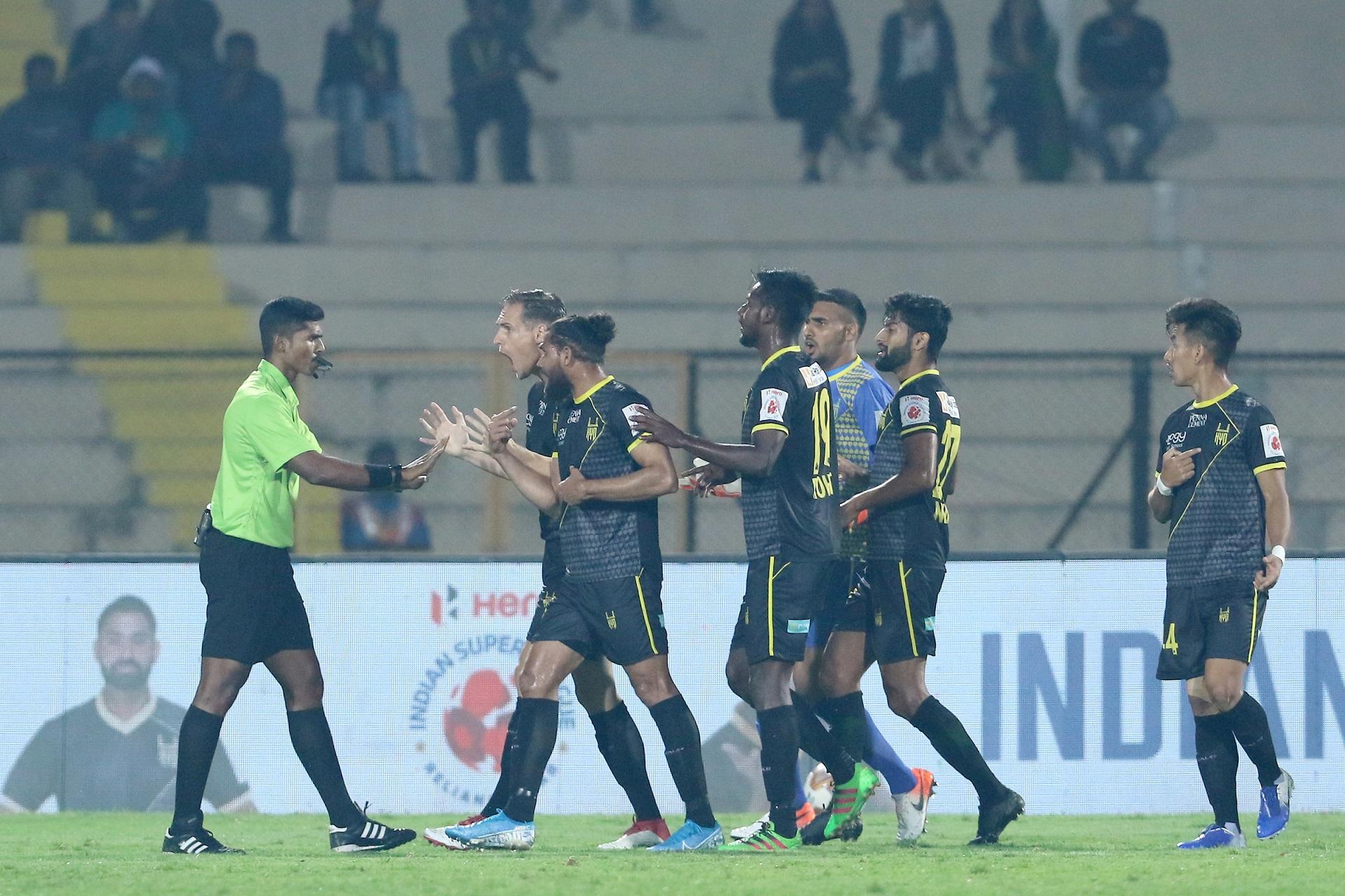 Hyderabad players v ATK