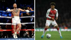 Conor McGregor Reiss Nelson Arsenal