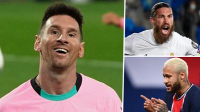 GFX Lionel Messi Sergio Ramos Neymar