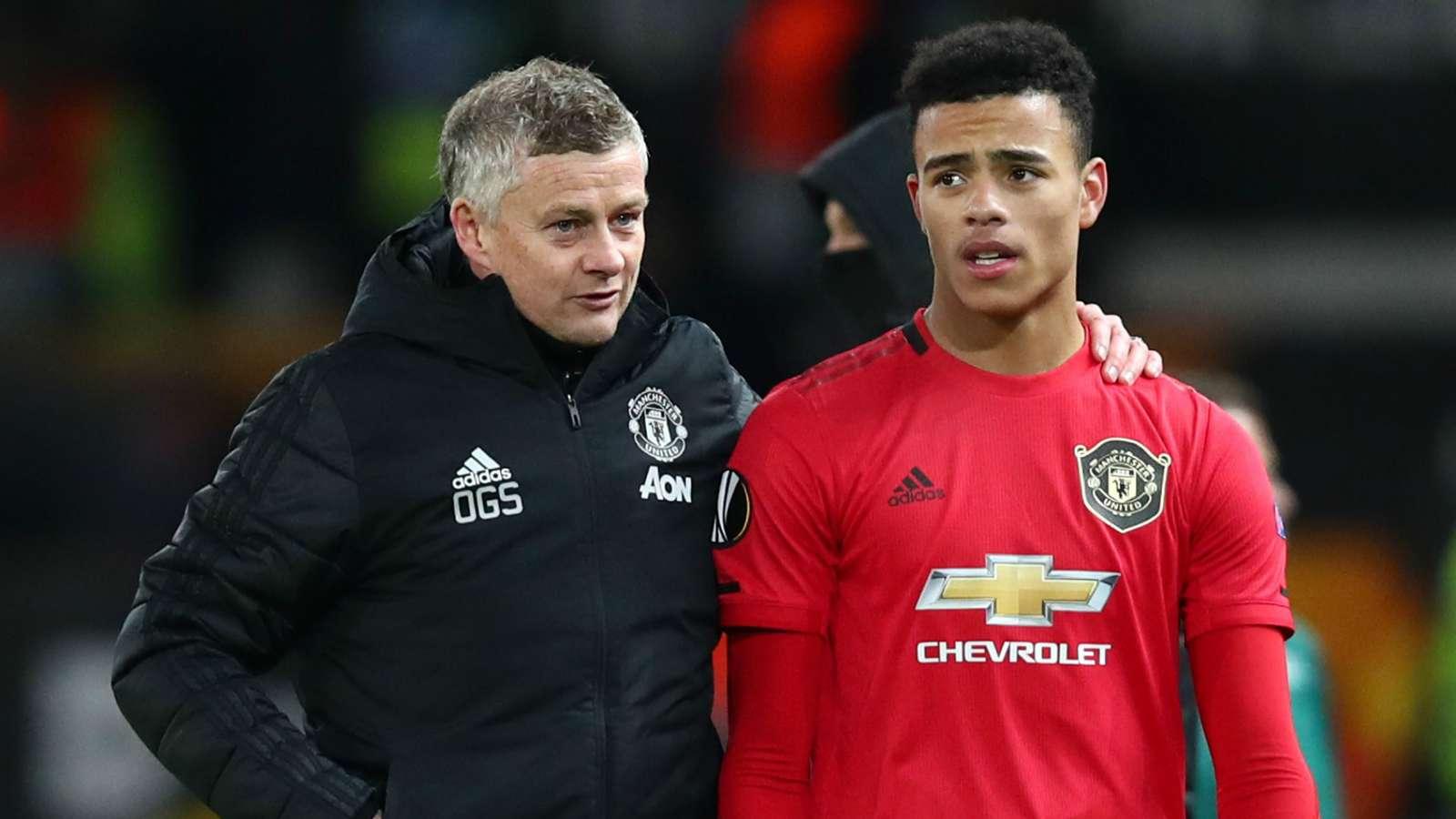 Ole Gunnar Solskjaer Mason Greenwood Manchester United 2019-20