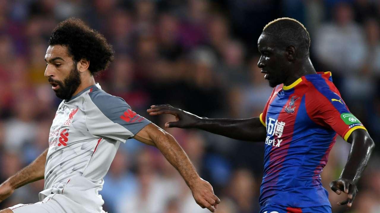Mo Salah Mamadou Sakho Liverpool Crystal Palace
