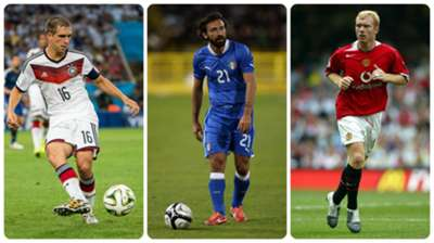 ONLY GERMANY Lahm Pirlo Scholes