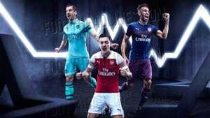 Arsenal kit 2018-19