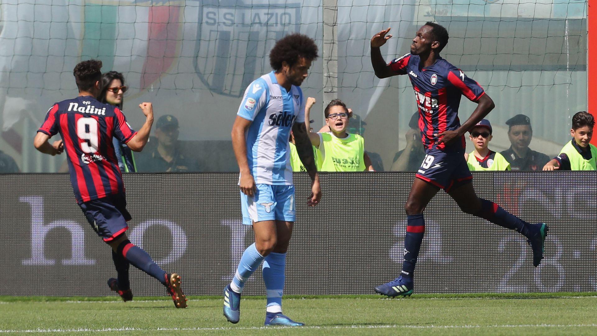 Simeon Nwankwo scores as Lazio deny Crotone crucial win | Goal.com