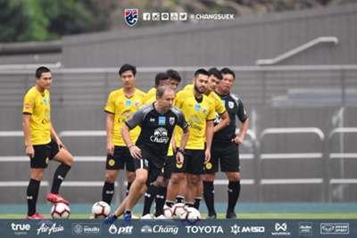 ทีมชาติไทย ซ้อมที่ฮ่องกง