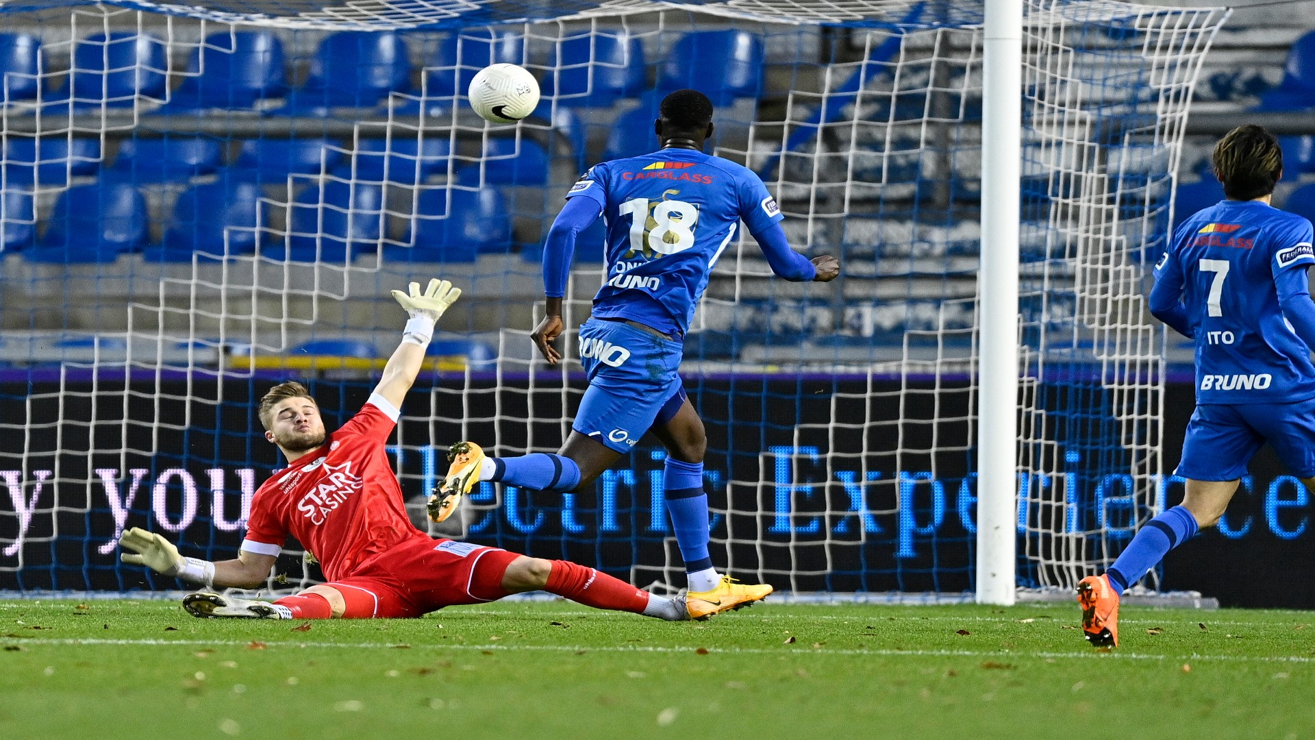 Onuachu returns to scoring form with Genk's winning goal in Belgian Cup